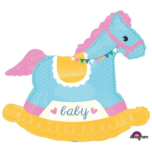 Baby Shower Rocking Horse SuperShape XL